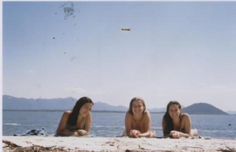 Thayna, Noni e Catu
