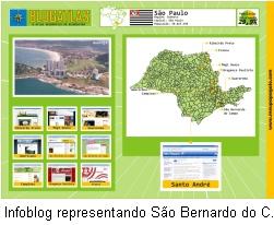 Blog Atlas - Infoblog representando São Bernardo do Campo