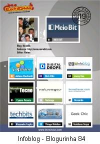 Blogurinhas - Infoblog 84