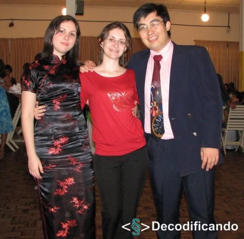 Decodificando em festa - Danielle Toste, Amanda Wanderley e Jonny ken Itaya