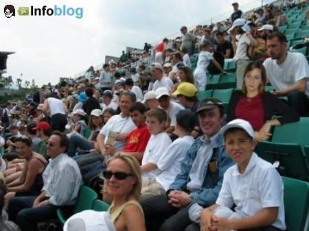 Dani Sorocaba em Rolland Garros