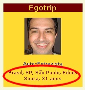 Identifique-se: Edney