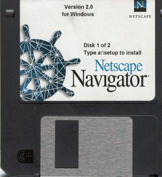 Disco de instalação do netscape