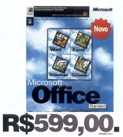 Office 95 full por R$599,00