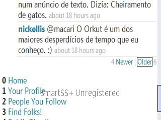 Nick Ellis - Macari, o Orkut é um dos maiores desperdícios de tempo que eu conheço :)