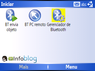 Ativando o Bluetooth