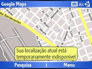 My location não funcionou no Moto Q CDMA