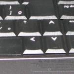 O Shift direito do Notebook Presario V6000 é muito pequeno