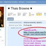 O truque do Phishing com a menina do banheiro do Orkut