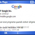 Testando o Google Maps 2 com GPS bluetooth