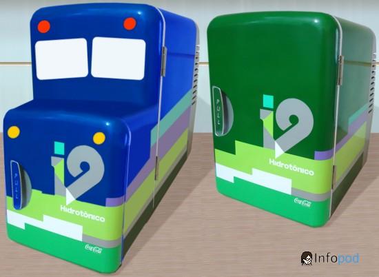 i9 geladeira e bluebus