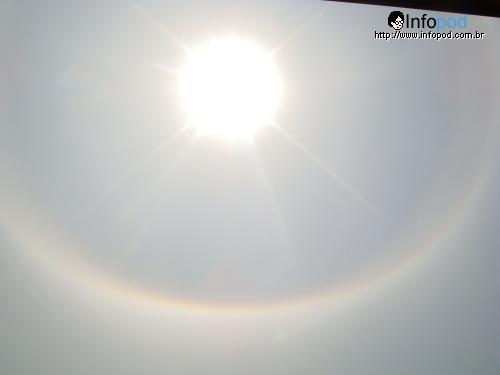 Halo Solar visto de São Bernardo do Campo