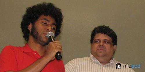 Ian Black e Gilberto Knuttz