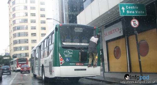 Carona na Brigadeiro Luis Antônio