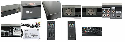 LG Blu Ray player BD370 Youtube