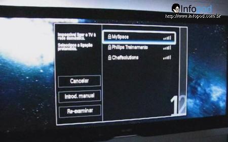 philips cinema 21 9 conexão wifi