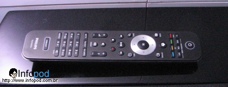 philips cinema 21 9 controle remoto