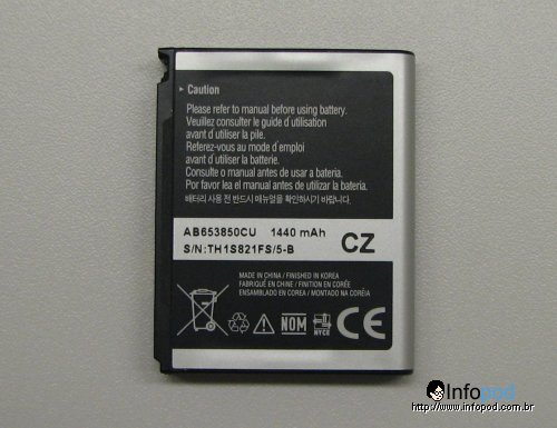 Samsung Galaxy Androide bateria 1440