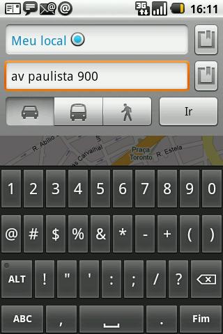 GPS android carro paulsta