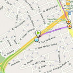GPS android transito