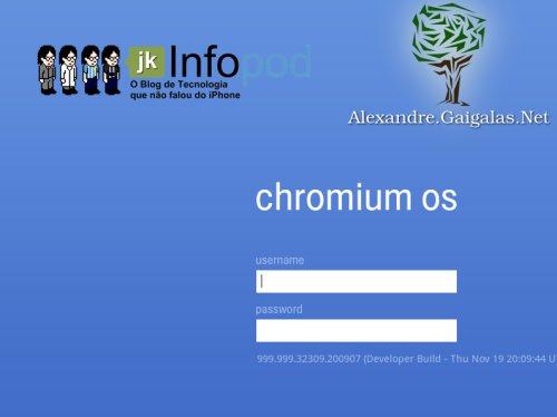abertura chromium OS