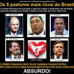 Enquanto isso, no Facebook: Os 5 pastores mais ricos do Brasil e a revolta na Internet