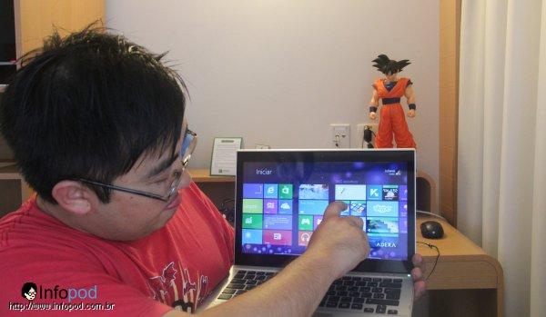 Vídeo Review: Windows 8 em Ultrabook com tela Touchscreen