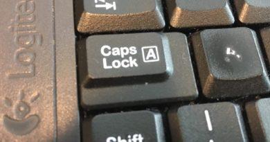 Causo do dia: CAPS LOCK!!