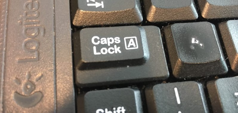 Causo do dia: CAPS LOCK!!